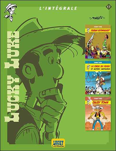Couverture de Lucky Luke (Intégrale Dupuis/Dargaud) -17- L'Intégrale 17