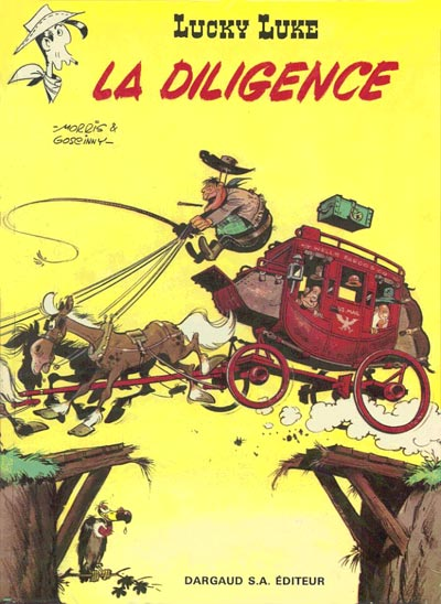 Couverture de Lucky Luke -32- La diligence