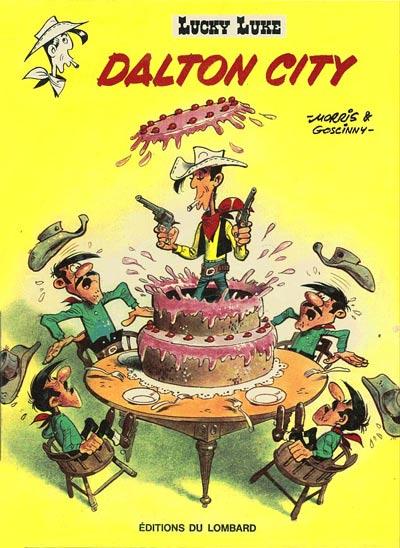 Couverture de Lucky Luke -34- Dalton city