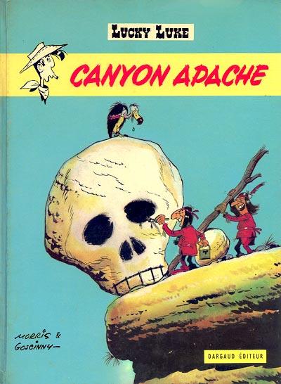 Couverture de Lucky Luke -37- Canyon Apache