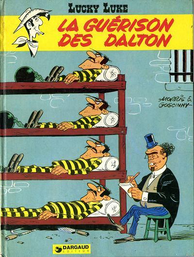 Couverture de Lucky Luke -44- La guérison des Dalton