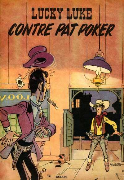 Couverture de Lucky Luke -5- Lucky Luke contre Pat Poker