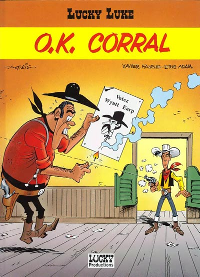 Couverture de Lucky Luke -66- O.K. Corral