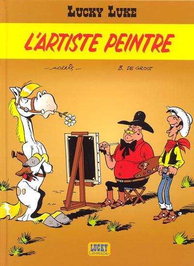 Couverture de Lucky Luke -69- L'artiste peintre