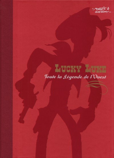 Couverture de Lucky Luke - Les Dessous d'une création (Atlas) -1- Toute la légende de l'Ouest