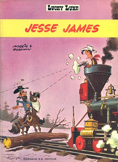 Couverture de Lucky Luke -35- Jesse James