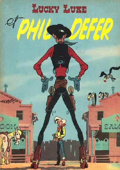 Couverture de Lucky Luke -8- Lucky Luke et Phil Defer