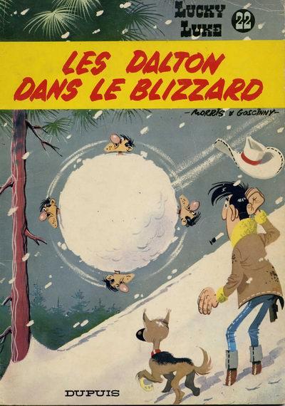 Couverture de Lucky Luke -22- Les Dalton dans le blizzard