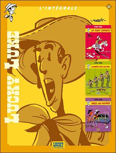 Couverture de Lucky Luke (Intégrale Dupuis/Dargaud) -20- L'Intégrale 20