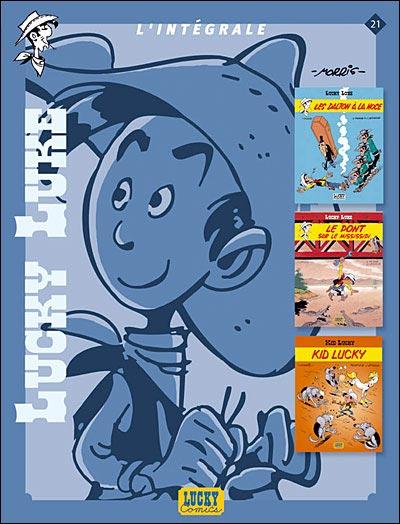 Couverture de Lucky Luke (Intégrale Dupuis/Dargaud) -21- Intégrale 21