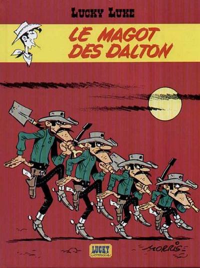 Couverture de Lucky Luke (Pub et Pastiches) -47Esso- Le magot des Dalton