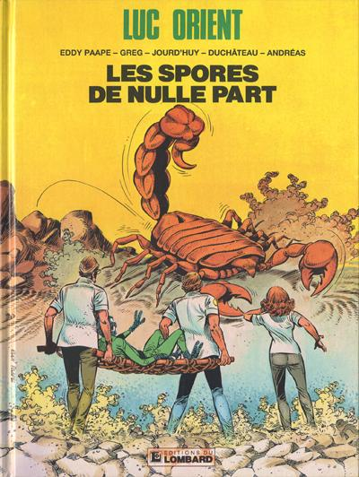 Couverture de Luc Orient -17- Les spores de nulle part