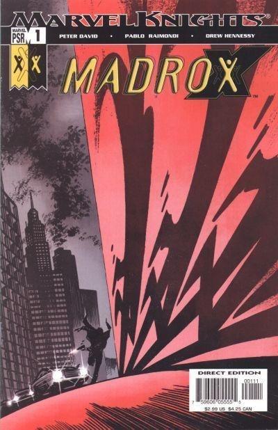 Couverture de Madrox (2004) -1- Soul of a gumshoe
