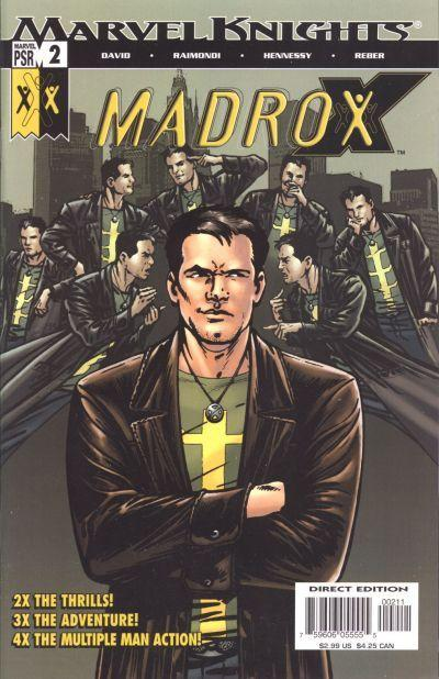 Couverture de Madrox (2004) -2- The chicagowhey