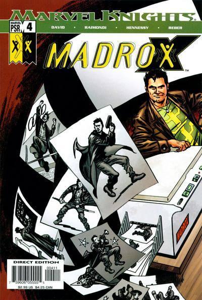 Couverture de Madrox (2004) -4- The bigger heat