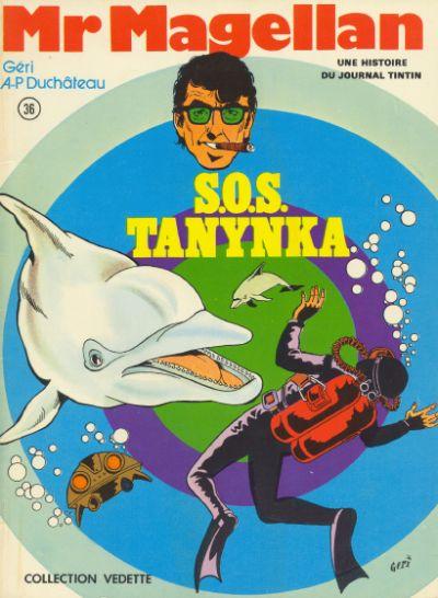 Couverture de Mr Magellan -5- S.O.S. Tanynka