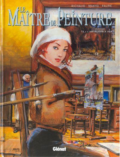 Couverture de Le maître de peinture -2- L'inexplicable don