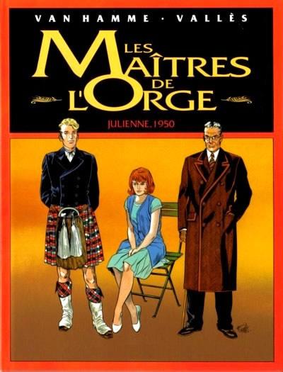 Couverture de Les maîtres de l'Orge -INTFL3- Julienne, 1950 / Jay, 1973