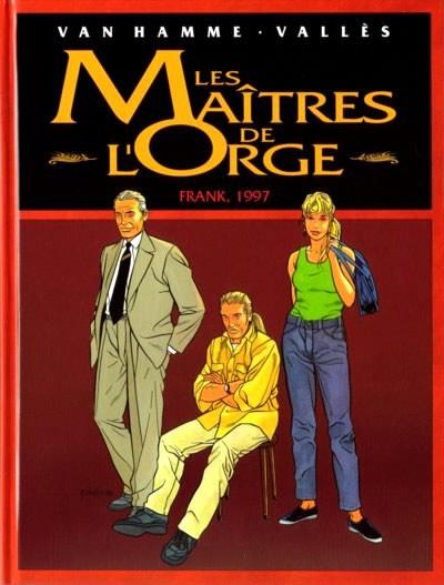 Couverture de Les maîtres de l'Orge -INTFL4- Frank, 1997 / Les Steenfort