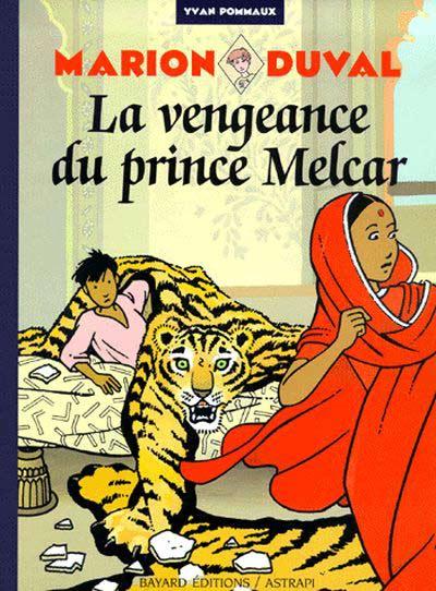Couverture de Marion Duval -8- La vengeance du prince Melcar