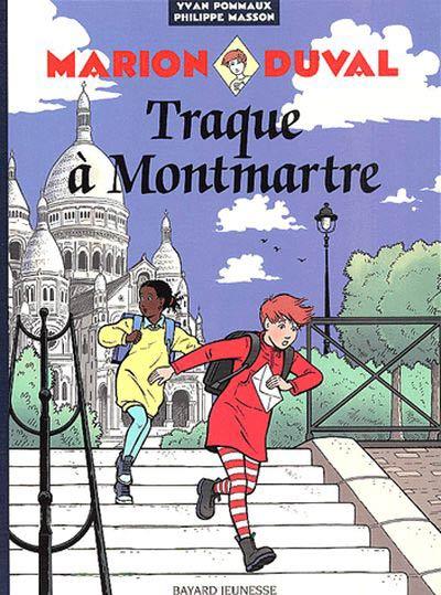 Couverture de Marion Duval -11- Traque à Montmartre