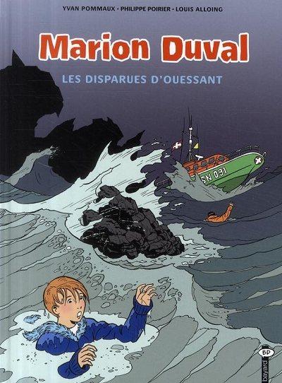 Couverture de Marion Duval -18- Les disparues d'Ouessant