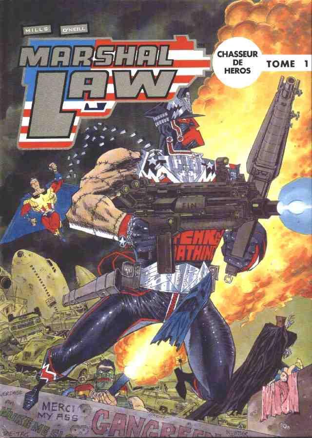 Couverture de Marshal Law -1- Chasseur de héros