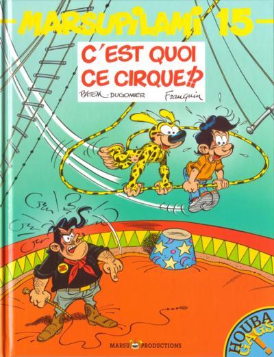 Couverture de Marsupilami -15- C'est quoi ce cirque !?