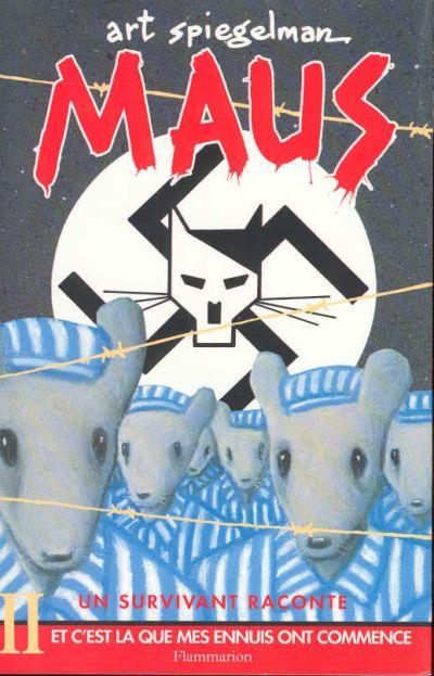 Couverture de Maus -2- Et c'est là que mes ennuis ont commencé