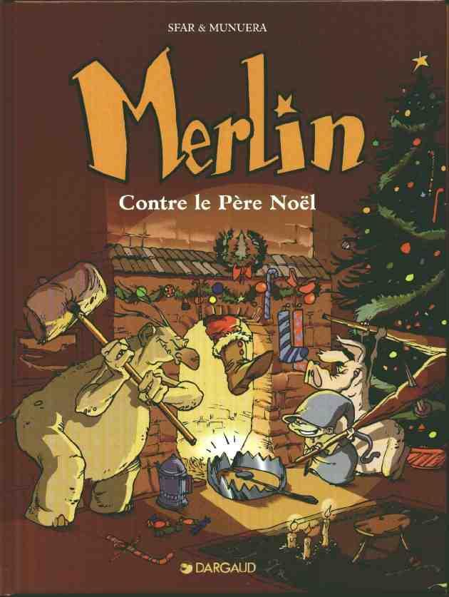 Couverture de Merlin (Munuera) -2- Contre le père Noël