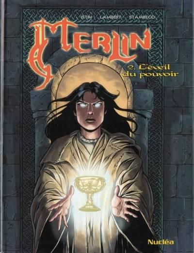Couverture de Merlin (Istin/Lambert) -2- L'éveil du pouvoir