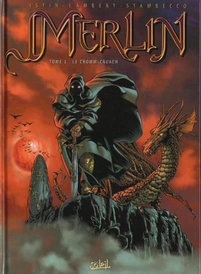 Couverture de Merlin (Istin/Lambert) -3- Le Cromm-Cruach