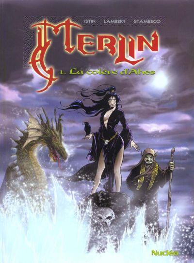 Couverture de Merlin (Nucléa/Soleil) -1- La colère d'Ahès