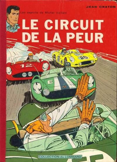 Couverture de Michel Vaillant -3- Le circuit de la peur
