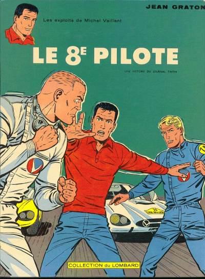 Couverture de Michel Vaillant -8- Le 8e pilote