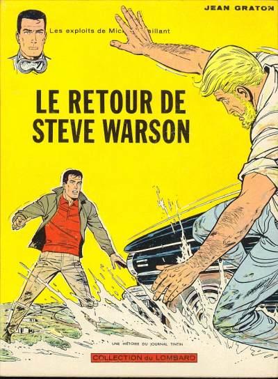 Couverture de Michel Vaillant -9- Le retour de Steve Warson
