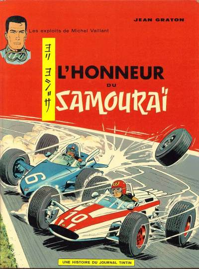 Couverture de Michel Vaillant -10- L'honneur du Samouraï