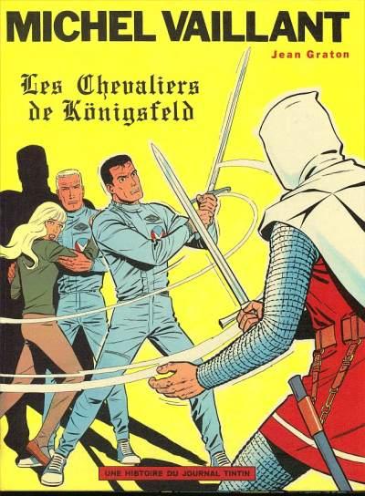 Couverture de Michel Vaillant -12- Les Chevaliers de Königsfeld