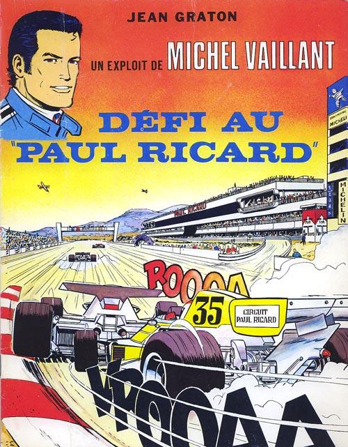 Couverture de Michel Vaillant -05Pub- Défi au Paul Ricard