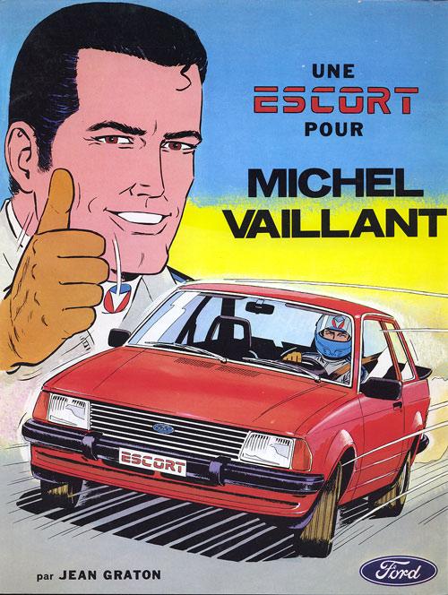 Couverture de Michel Vaillant -09Pub- Une Escort pour Michel Vaillant