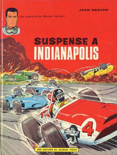 Couverture de Michel Vaillant -11- Suspense à Indianapolis