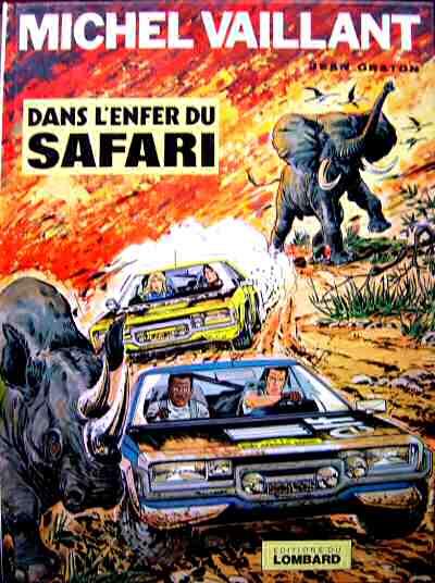 Couverture de Michel Vaillant -27- Dans l'enfer du safari