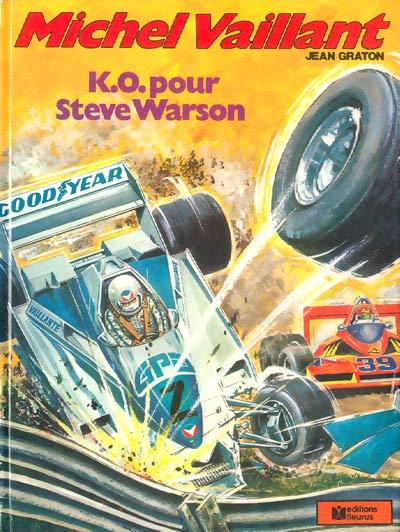 Couverture de Michel Vaillant -34- K.O. pour Steve Warson