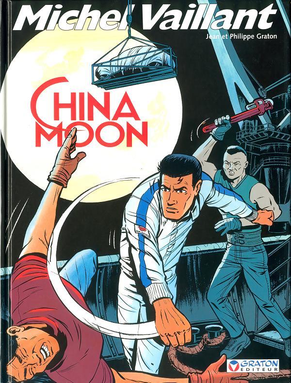 Couverture de Michel Vaillant -68- China Moon