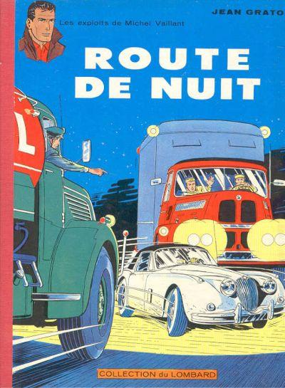 Couverture de Michel Vaillant -4- Route de nuit