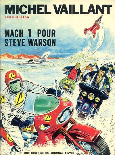 Couverture de Michel Vaillant -14- Mach 1 pour Steve Warson