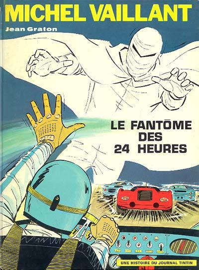 Couverture de Michel Vaillant -17- Le fantôme des 24 heures