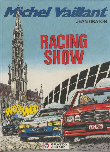 Couverture de Michel Vaillant -46- Racing show