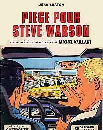 Couverture de Michel Vaillant -06Pub- Piège pour Steve Warson