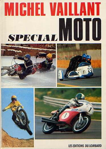 Couverture de Michel Vaillant -sp03- Spécial Moto